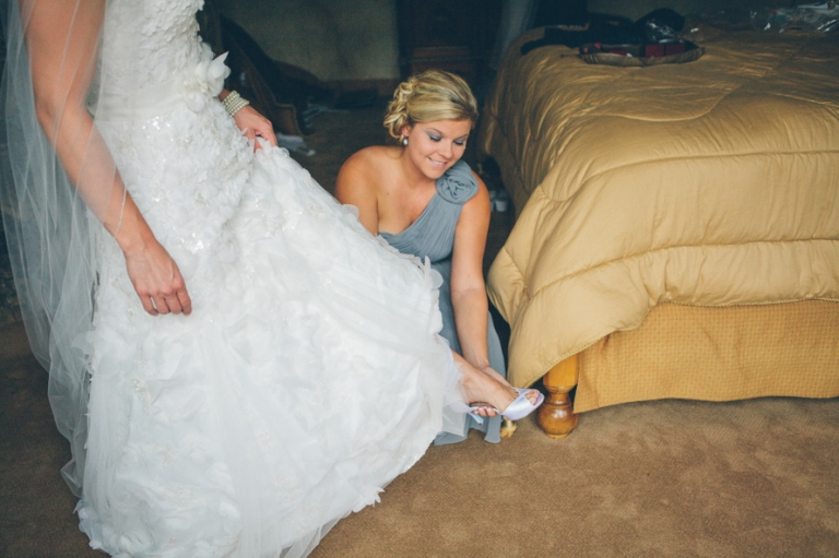 Julie brad married breckenridge co jessica for Wedding dress rental denver co