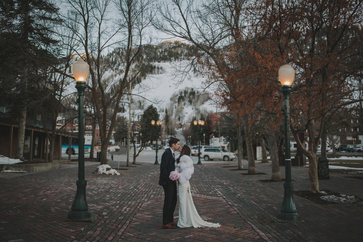 Colorado aspen wedding