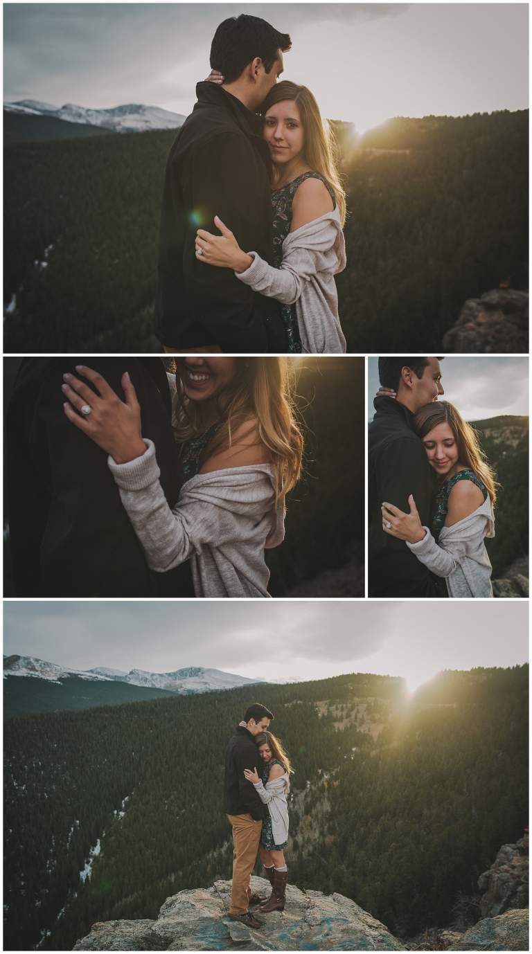 Renee Amp Jason Echo Lake Adventure Engagement Colorado