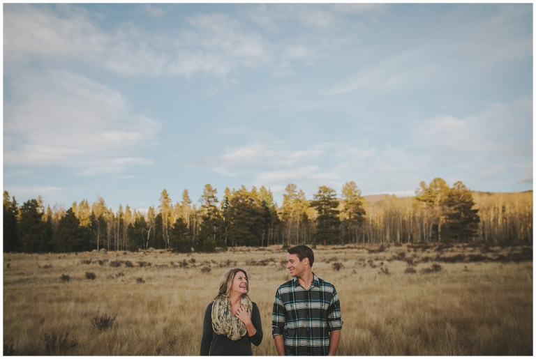 Brittany Amp Bryce Kenosha Pass Engagement Colorado