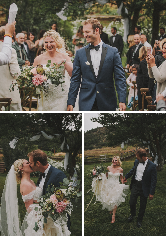 Ilona Amp Clay Backyard Aspen Wedding Colorado Wedding